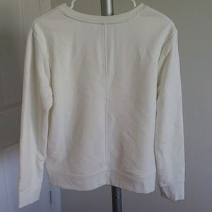 a new day Sweaters - A new day white knit v-neck sweater size M (NWOT)